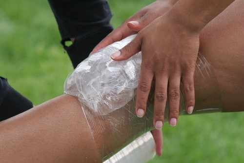 The best way to recover from bumps, bruises and sprains
